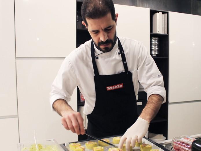 Show cooking miele presso calzavara arredamenti di cavaria for Rigolio arredamenti